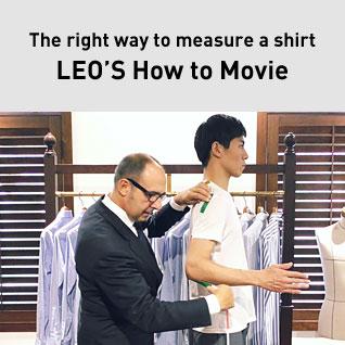 正しいシャツの採寸方法  CAMICIANISTA(カミチャニスタ)